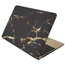 Skal Macbook Pro Retina 15.4-tum - Marmor svart & guld