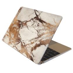Skal Macbook Pro Retina 15.4-tum - Marmor vit & guld