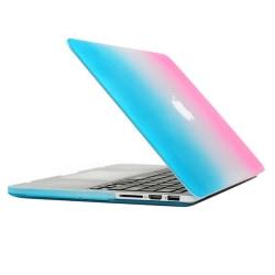 Skal Macbook Pro Retina Matt frostat blå & rosa (15.4-tum)