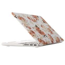 Skal Macbook Pro Retina Vit med rosa blommor 13.3-tum
