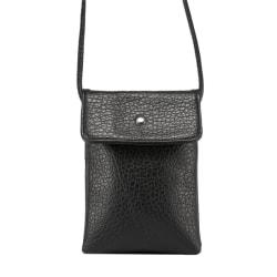Stor universal mobilväska - Dubbelfack svart Svart