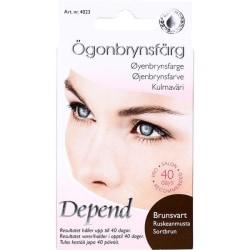 Depend Ögonbrynsfärg Kit Brunsvart