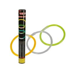 Glowsticks 20x0,5 cm 15st Blandade