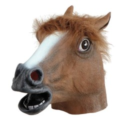 Hästmask Deluxe