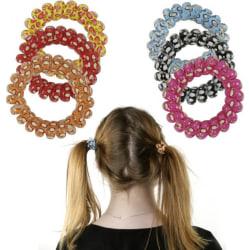 Skonsam Spiral hårsnoddar barn 6-pack