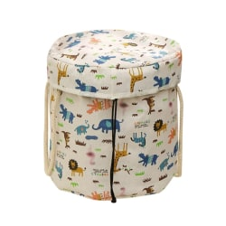 2 In 1 Children's Play House Toy Storage Bag