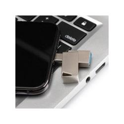 2 In 1 OTG Type-C USB 3.0 16G Capacity U Disk Pen Drive Silver