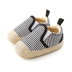 2020 Baby Boy Striped Cotton Soft Soled Canvas Shoes 12-18M