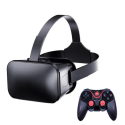 3D VR Glasses with Headset Controllers A