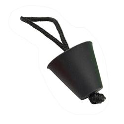 4pcs Durable Plastic Safety Air Valve Nozzle Black