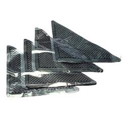 4pcs Non Slip Reusable Washable Silicone Grip Rug