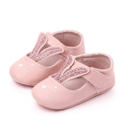 Baby bunny ears princess cat print toddler shoes P 6-9M