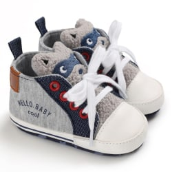 Baby casual cartoon soft-soled toddler shoes A3 13-18Months