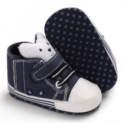 Baby Cute Bear Boys Canvas Sneakers Sports Shoes DL 7-12Months