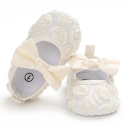 Baby Girls Soft Sole Butterfly-knot Anti-Slip Princess Shoes W