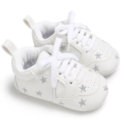 Baby lace-up casual soft-soled non-slip toddler shoes S 0-6Months