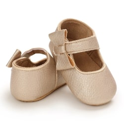 Baby Shoes PU Cute Non-Slip Toddler Shoes Q M