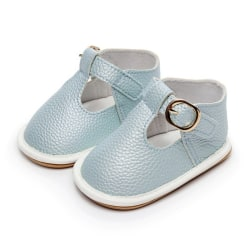 Baby solid color PUT type hollow rubber sole toddler sandals