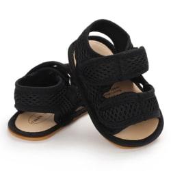 Baby summer mesh gauze non-slip rubber sole toddler sandals