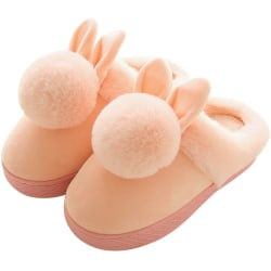 Baby Warm Cartoon Ball Shoes Household Non-slip Baby Slippers P 14cm