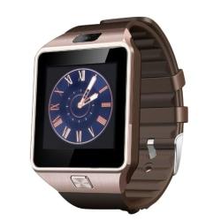Bluetooth Smart Watch Phone Call 2G GSM SIM TF Card Gold