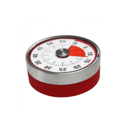 Chef Cooking Timer With Alarm Mechanical-countdown Reminder Red