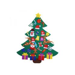 Cute DIY Christmas Tree Decorations Kindergarten Handmade 110cm