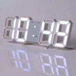 Digital 3D LED Horloge Murale Alarme Montre