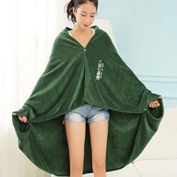 Freedom Flannel Cloak Blanket Cosplay Costume Cape L