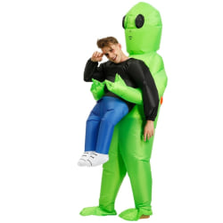 Halloween Alien Inflatable Costume Parent-child Party Clothing for adult1