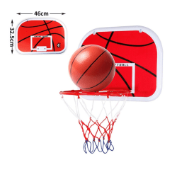 Hanging Basketball Hoop Indoor Mini Basketball Toy Set L