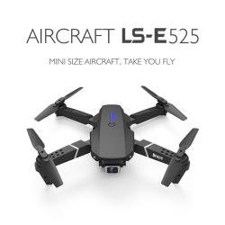 HD 4K 1080P Camera Rc Drone E525 Pro Wifi Fpv Drones Black 1080P