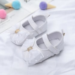Infant Asakuchi Princess Cute Mesh Bow Toddler Shoes W 13-18Months