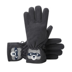 Kids Gloves Winter Embroidered Double-layer Anti-slip Windproof