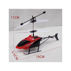 Kids Toys 3D Gyro Helicoptero with USB Charging Cable Red