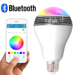 LED Music Light Bulb With Smart Bluetooth Speaker APP Control