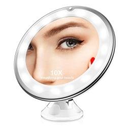 Förstoringsspegel med 360 graders justerbar ljus