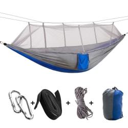 Utomhus campinghängmatta med bärbar myggnät