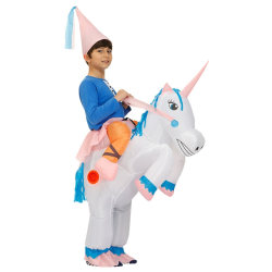 Party Inflatable Unicorn Children Funny Inflatable Costume for child