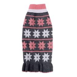 Pet Dog Warm Sweater Star Design Turtleneck