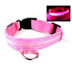 Pet Dog Waterproof LED Luminous Collar P M