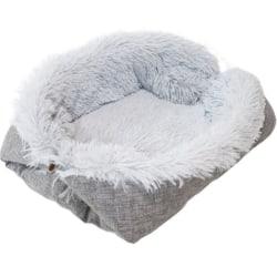 Pet Foldable Plush Bed B