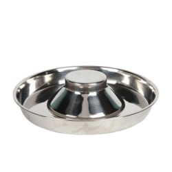 Pet Stainless Steel Feeder Slow Food Bowl For Dogs Cat Medium