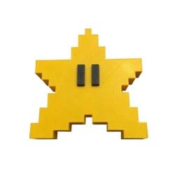 Pixel Star Christmas Tree Topper 3D Star Shape