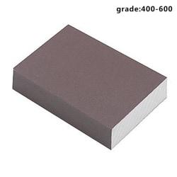 Polishing Sponge Sand Block for Woodworking Furniture Handicraft Brown ultra-fine (grade 400-600)
