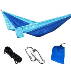 Portable Furniture Nylon Hammocks Double Person Camping Garden
