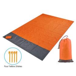 Bärbar picknickstrandmatta Pocket Vattentät filtmadrass