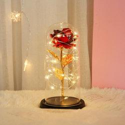 Romantic LED Flower Night Motion Lamp Valentine's Rose A