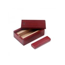 Rosewood Square USB Memory Stick Thumb Pen Flash Drive U-Disk Red