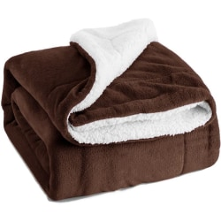 Super Soft Plush Blanket Household Double Layer Fleece